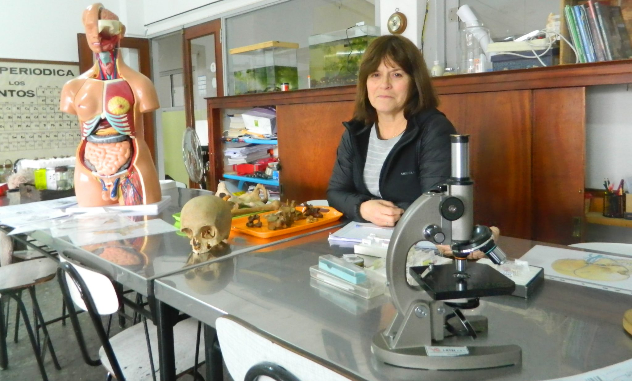 Conociendo a nuestra Comunidad Educativa – Sonia Ferrou